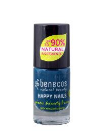 Benecos Nail Polish nordic blue 5ml