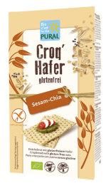 Pural Croq Hafer Sesam Chia glutenfrei 160 g