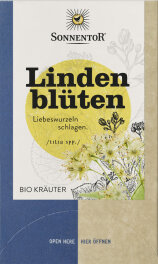 Sonnentor Lindenblüten Doppelkammerbeutel 18x1,5