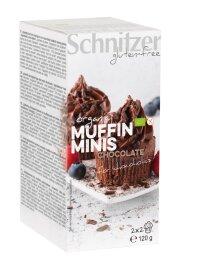 Schnitzer Muffin minis chocolate 4Stk 120 g