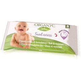 Organyc Babypflegetücher 60 Stück