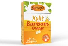 Birkengold Xylit Bonbons Orange 30 g