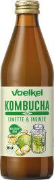 Voelkel Kombucha Limette Ingwer 330 ml