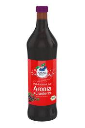 Aronia Original Aronia Cranberry Mehrfruchtsaft 700 ml