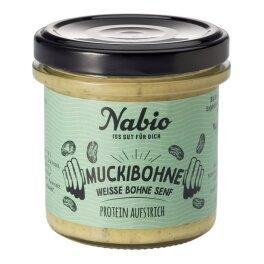 Nabio Protein Muckibohne Aufstrich 140 g