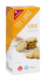 3 Pauly Teff Cookie Classic glutenfrei 125 g