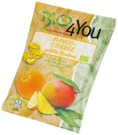 Bio 4You Mango-Orange Bonbons 75 g
