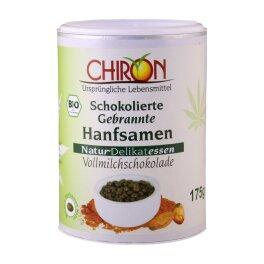 CHIRON Schokolierte Hanfsamen Vollmilch 175 g