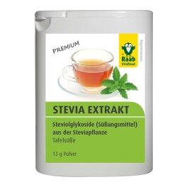 Raab Vitalfood Stevia Extrakt 13 g