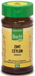 Brecht Zimt Ceylon Gemahlen Glas 27 g