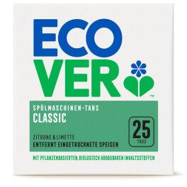 Ecover Classic Spülmaschinen-Tabs Zitrone 500 g
