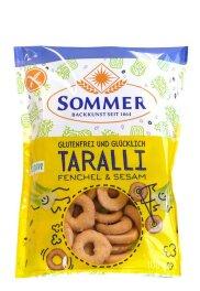 Sommer Taralli Fenchel & Sesam glutenfrei 100 g