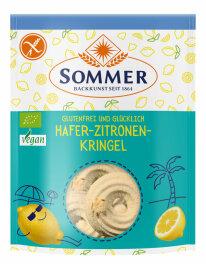 Sommer Hafer Zitronenkringel glutenfrei 150 g
