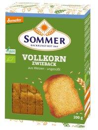Sommer Weizen-Vollkorn Zwieback 200 g