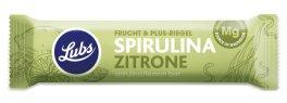 Lubs Spirulina Zitrone Fruchtriegel 40 g