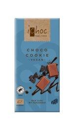 iChoc Bio Choco Cookie Reismilchschokolade 80g