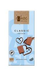 iChoc Bio Milkless Helle Reismilchschokolade 80g