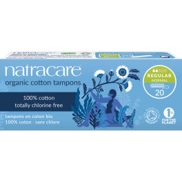 Natracare Tampons Normal 20 Stück
