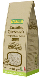 Rapunzel Bio Parboiled Spitzenreis Langkorn natur 500g