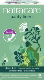 Natracare Panty Liners Tanga Slipeinlagen 30 Stück