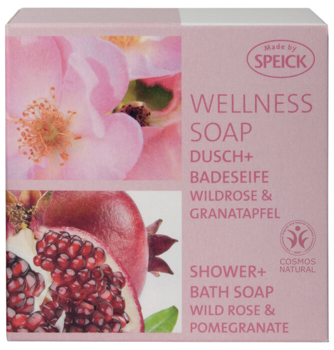 Speick Wildrose & Granatapfel Wellness Soap 200g