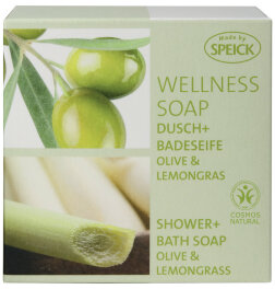 Speick Olive & Lemongras Wellness Soap 200g