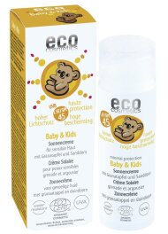 Eco Cosmetics Baby & Kids Sonnencreme 50ml LSF 45