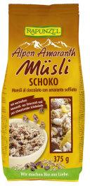 Rapunzel Bio Alpen-Amaranth Müsli Schoko 375g