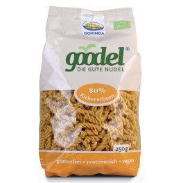 Govinda Goodel Nudel Kichererbse-Leinsaat 250g