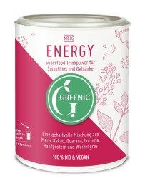 Greenic Energy Bio Trinkpulver Mischung 100g