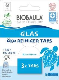 Biobaula Glasreiniger-Tabs 3 Tabs
