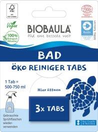 Biobaula Reinigungs-Tabs Badreiniger 3 Tabs