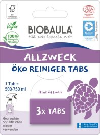 Biobaula Allzweckreiniger-Tabs 3 Tabs