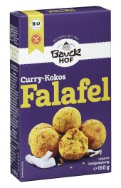 Bauckhof Falafel Curry-Kokos Fertigmischung 160 g