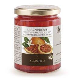 Agrisicilia Blutorangen-Marmelade Bio 360g