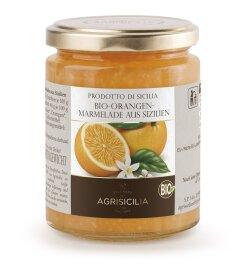 Agrisicilia Orangen-Marmelade Bio 360g
