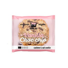 Kookie Cat Bio Vanilla Choc Chip Keks, 50g
