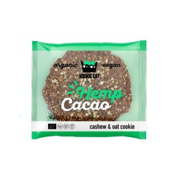 Kookie Cat Hemp Seed & Cacao Cookie 50g