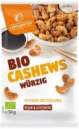 Landgarten Cashews Würzig 55g