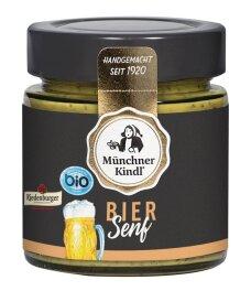 Münchner Kindl Bio Giesinger Biersenf 125ml