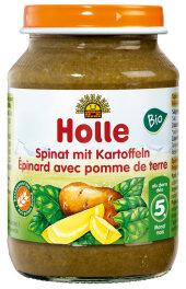 Holle Baby Food Spinat mit Kartoffeln 190g