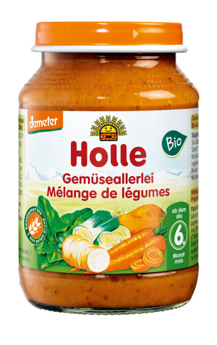 Holle Baby Food Gemüseallerei 190g