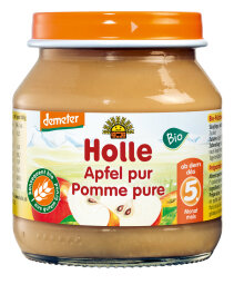 Holle Baby Food Apfel Pur 125g