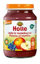 Holle Baby Food Apfel mit Heidelbeere 190g