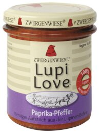 Zwergenwiese Bio LupiLove Paprika-Pfeffer 165g