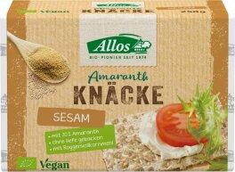 Allos Amaranth-Knäcke mit Sesam 250g