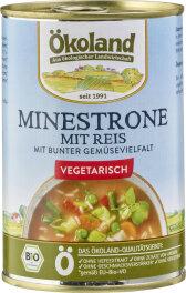 Ökoland Bio Minestrone mit Reis 400g