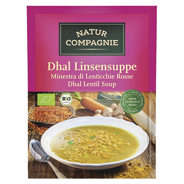 Natur Compagnie Bio Dhal Linsensuppe 60g