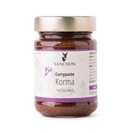 Sanchon Bio Currypaste Korma 190g