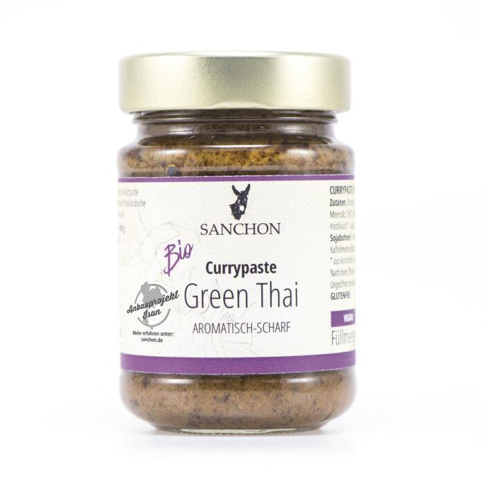Sanchon Bio Currypaste Green Thai 190g, 3,49 €